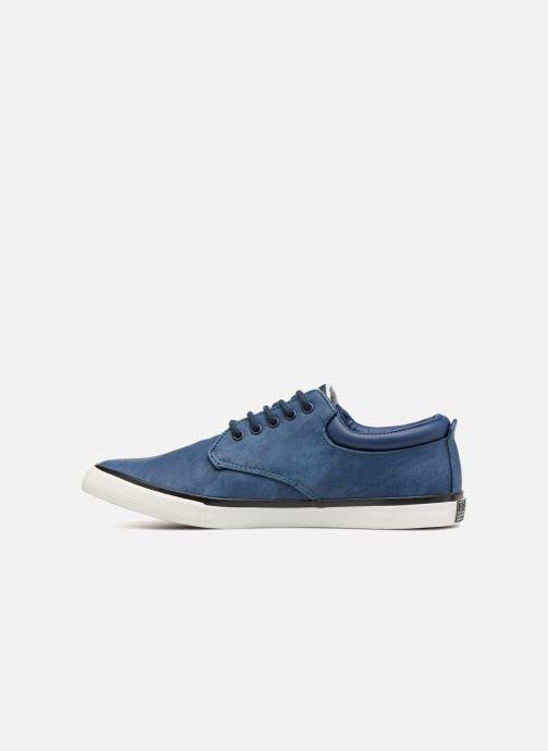 Sneakers British Knights Juno Blauw voorkant