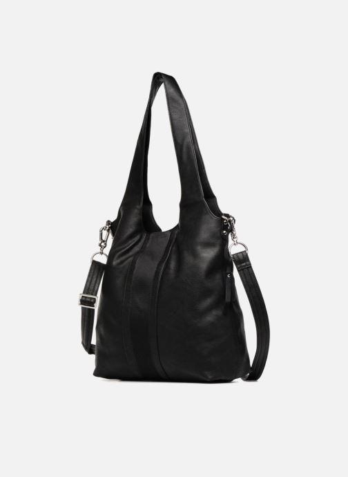 Handtaschen Esprit Isla Shopper schwarz schuhe getragen
