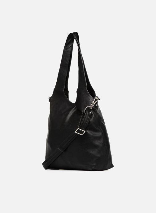 Handtaschen Esprit Isla Shopper schwarz ansicht von rechts