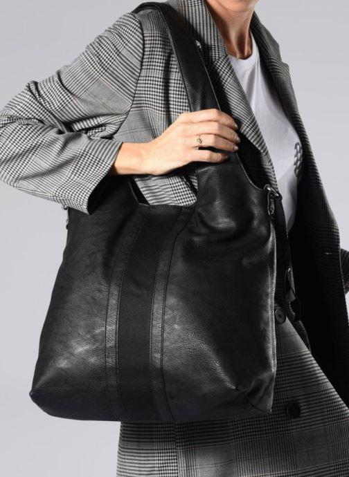 Handtaschen Esprit Isla Shopper schwarz ansicht von oben