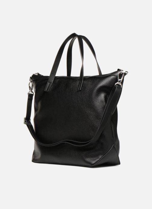 Handtassen Esprit Izzy City Bag Zwart rechts