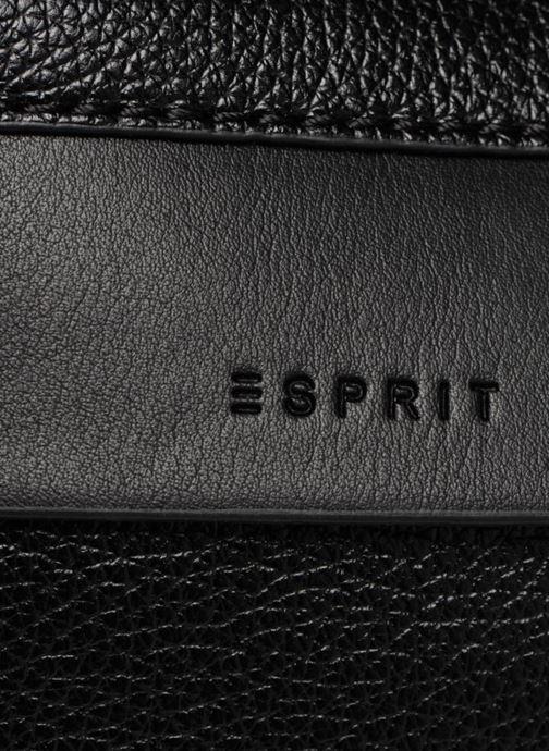 Handtassen Esprit Izzy Small Shoulder Bag Zwart links