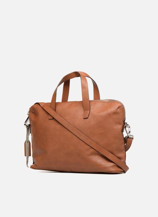 Handtaschen Esprit Iza Working Bag braun ansicht von rechts
