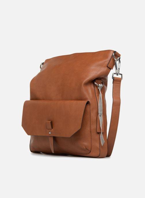 Handtaschen Esprit Iza Shoulder Bag braun schuhe getragen