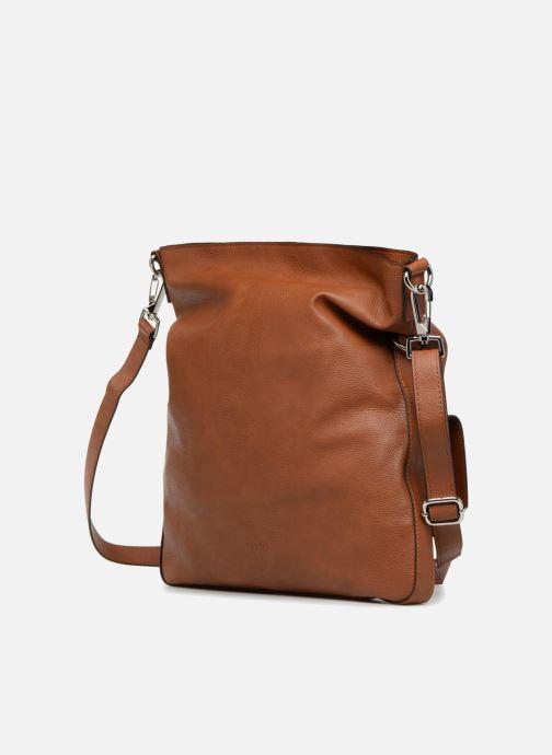 Handtaschen Esprit Iza Shoulder Bag braun ansicht von rechts