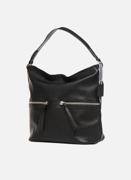 Handtaschen Esprit Ivy Hobo schwarz schuhe getragen