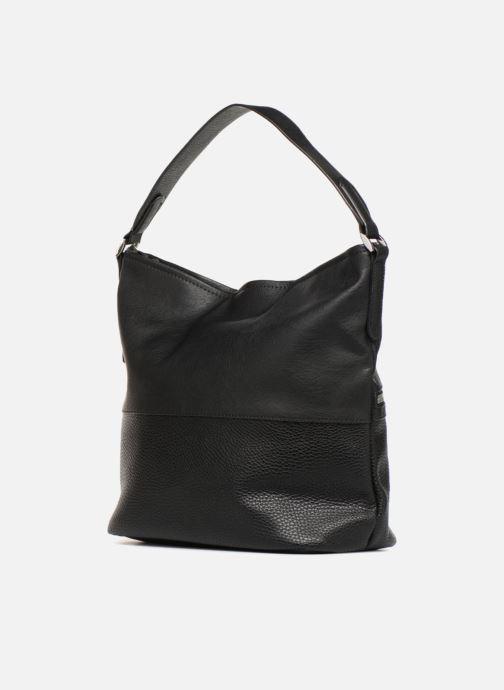 Handtaschen Esprit Ivy Hobo schwarz ansicht von rechts