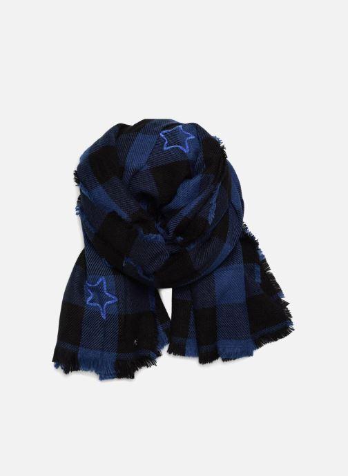 Echarpes et Foulards Esprit Stars Check Scarf 90cm x 200cm Bleu vue détail/paire