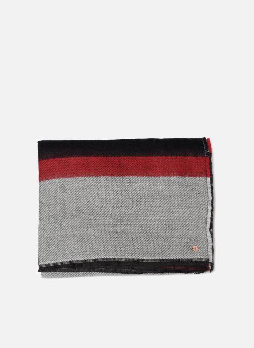 Halsduk och scarf Esprit Cosy Geographic Scarf 70cm x 200 cm Svart bild av skorna på