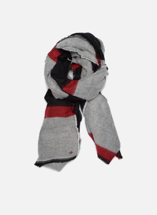 Halsduk och scarf Esprit Cosy Geographic Scarf 70cm x 200 cm Svart detaljerad bild på paret
