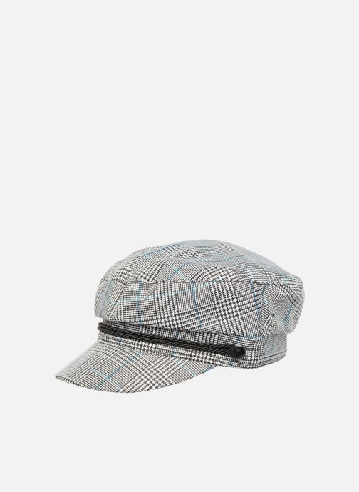 Pet Esprit Check News Boy Cap Zwart detail