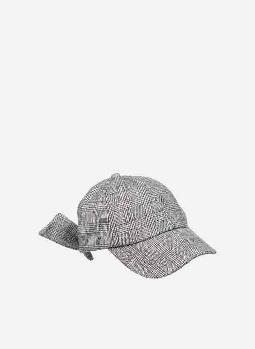 Casquettes Esprit Wool Check Cap Noir vue face