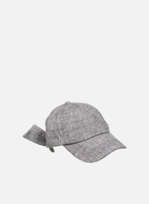 Cappellino Esprit Wool Check Cap Nero immagine frontale