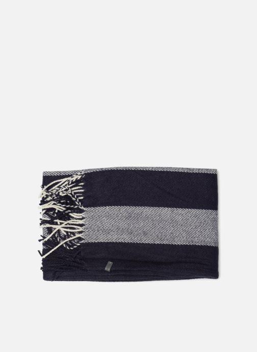Halsduk och scarf Esprit Stripes Scarf 40cm x 180 cm Blå bild av skorna på