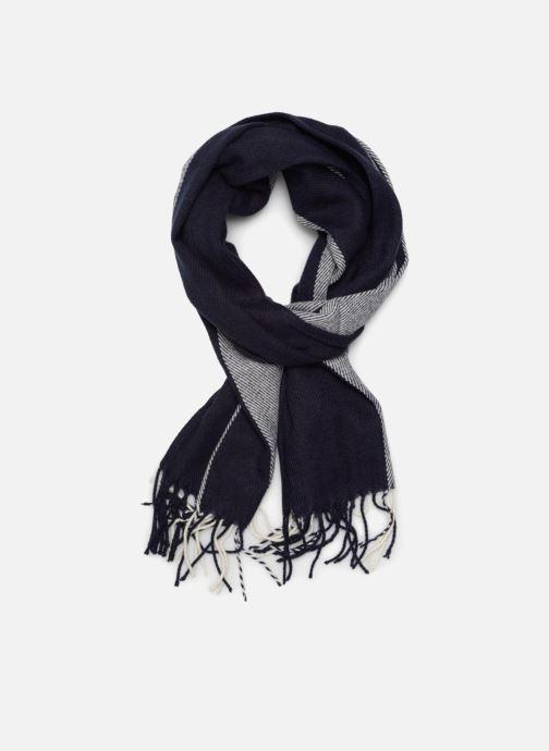 Halsduk och scarf Esprit Stripes Scarf 40cm x 180 cm Blå detaljerad bild på paret