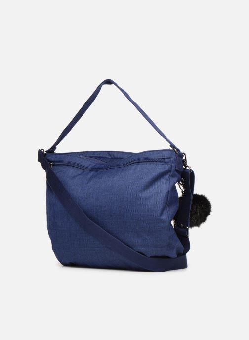 Handtaschen kipling FENNA blau ansicht von rechts
