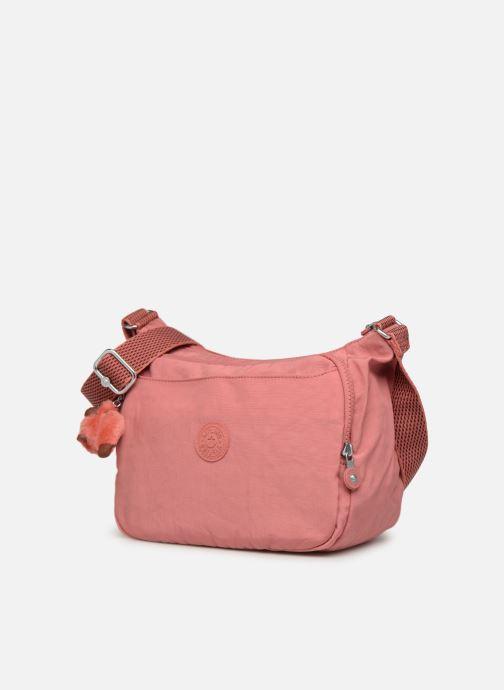 Handtaschen kipling CAI rosa schuhe getragen
