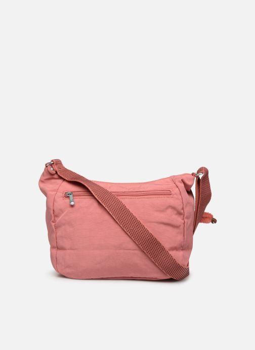 Handtaschen kipling CAI rosa ansicht von vorne