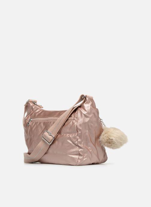 Handtaschen kipling CAI rosa ansicht von rechts