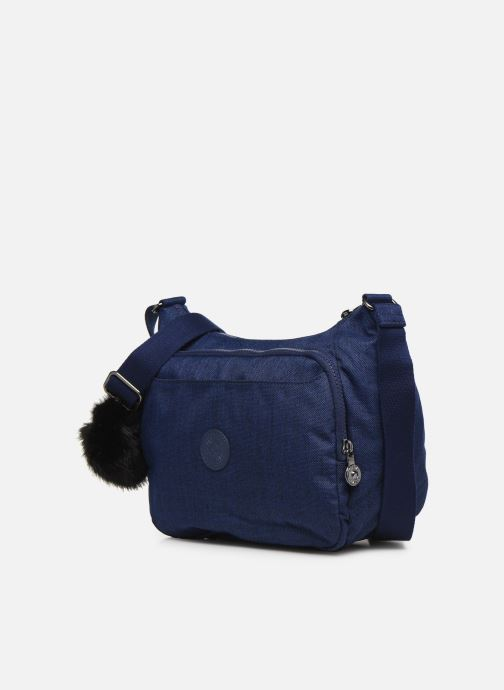 Handtaschen kipling CAI blau schuhe getragen