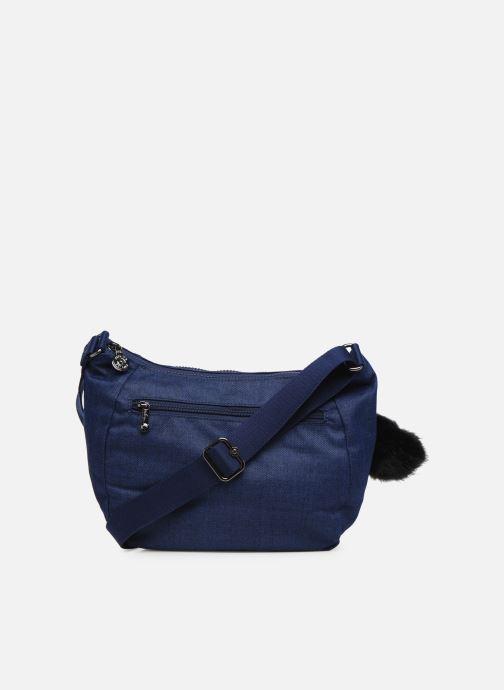 Handtaschen kipling CAI blau ansicht von vorne