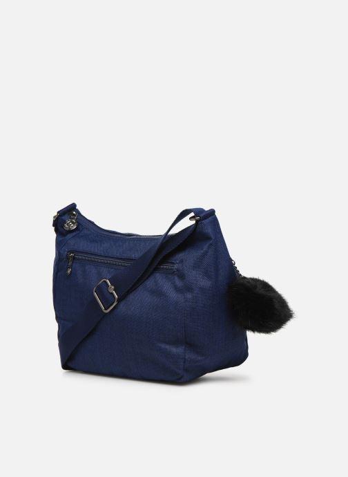 Handtaschen kipling CAI blau ansicht von rechts