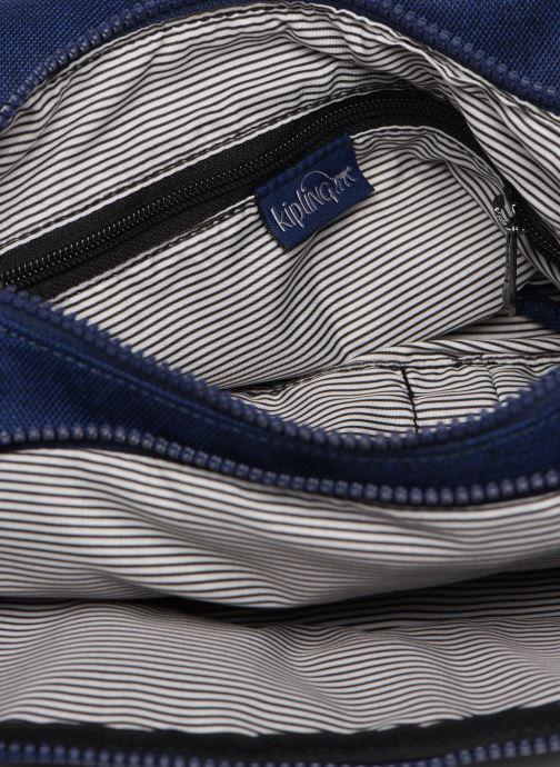 Handtassen kipling CAI Blauw achterkant