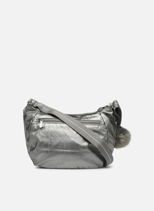 Handtaschen kipling CAI silber ansicht von vorne