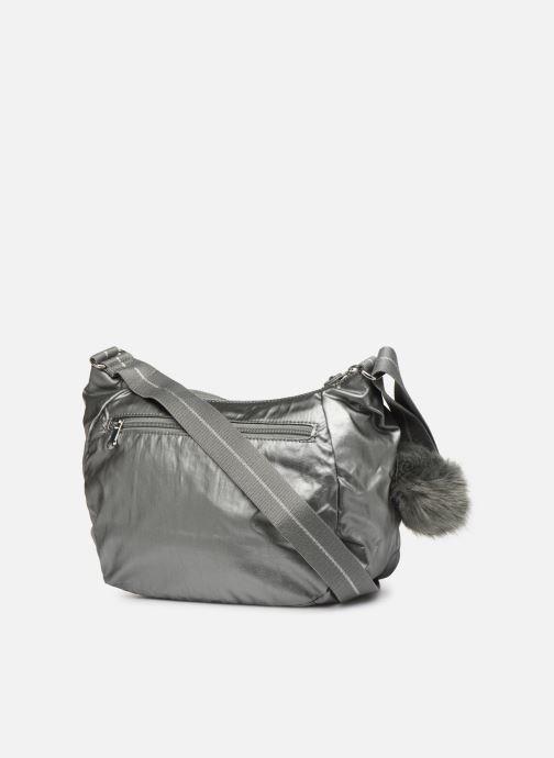 Handtaschen kipling CAI silber ansicht von rechts