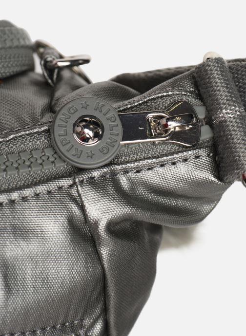 Handtaschen kipling CAI silber ansicht von links