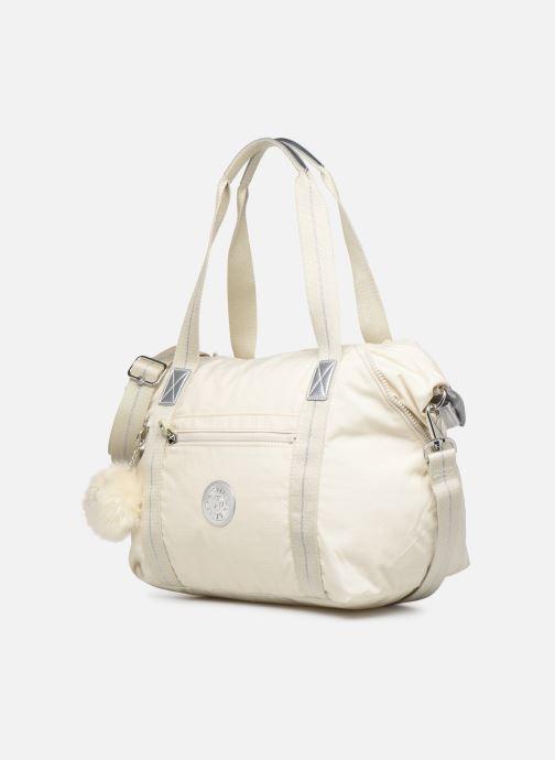 Sporttaschen Kipling ART weiß schuhe getragen