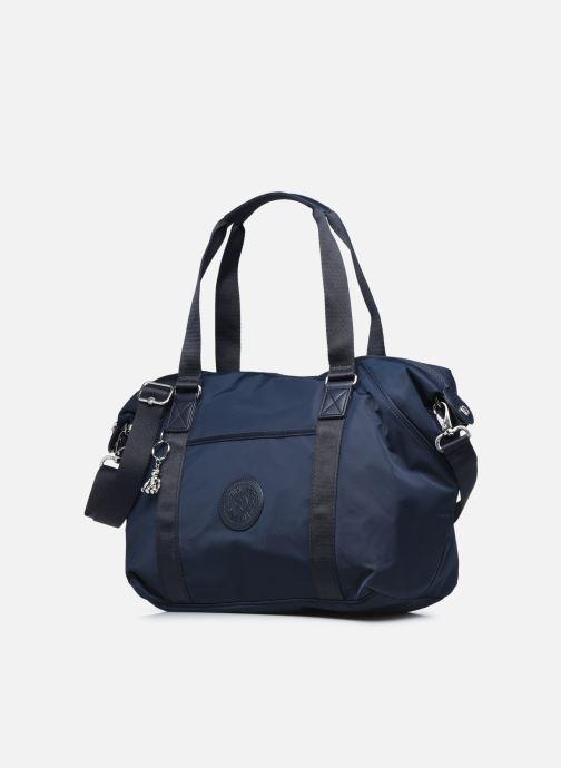 Bagagli Kipling Art Azzurro modello indossato