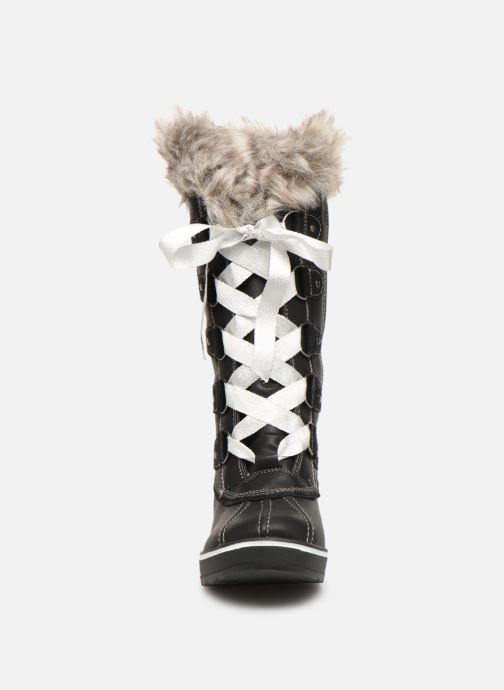 Bottes Kimberfeel Beverly Christmas Noir vue portées chaussures