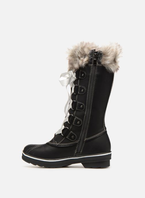 Boots & wellies Kimberfeel Beverly Christmas Black front view