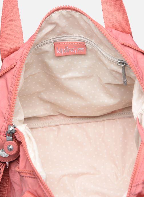 Handtassen kipling ART MINI Roze achterkant