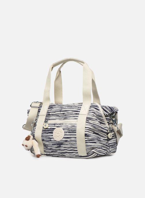 Handtaschen Kipling ART MINI weiß schuhe getragen