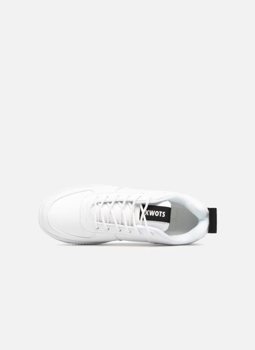 Sneakers Kwots MASTER SU Bianco immagine sinistra