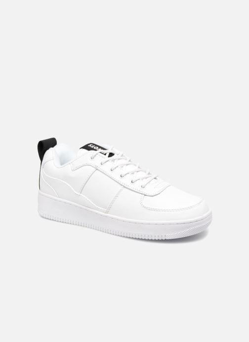 Baskets Kwots MASTER SU Blanc vue détail/paire