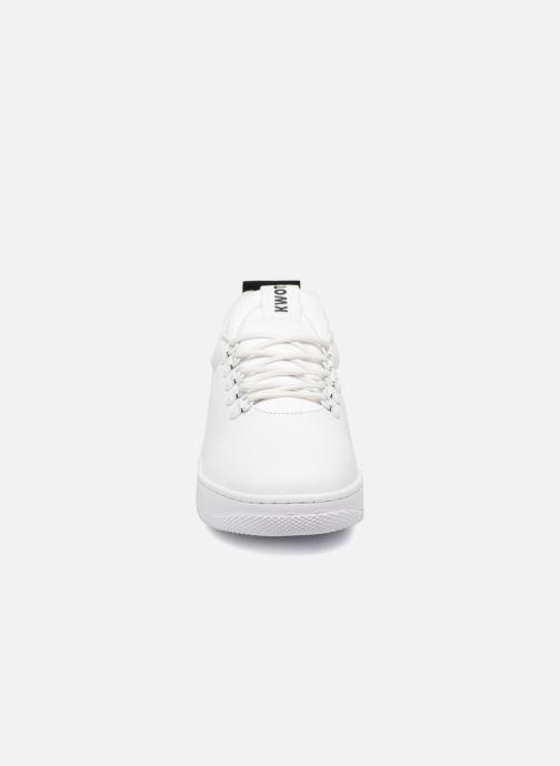 Baskets Kwots GRAND MOUNTAIN P Blanc vue portées chaussures