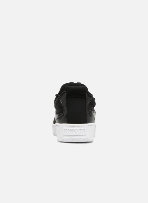 Sneakers Kwots FLASH NEOPRENE TL Nero immagine destra