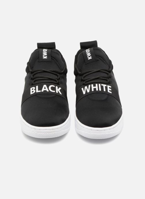 Baskets Kwots FLASH NEOPRENE BW Noir vue portées chaussures