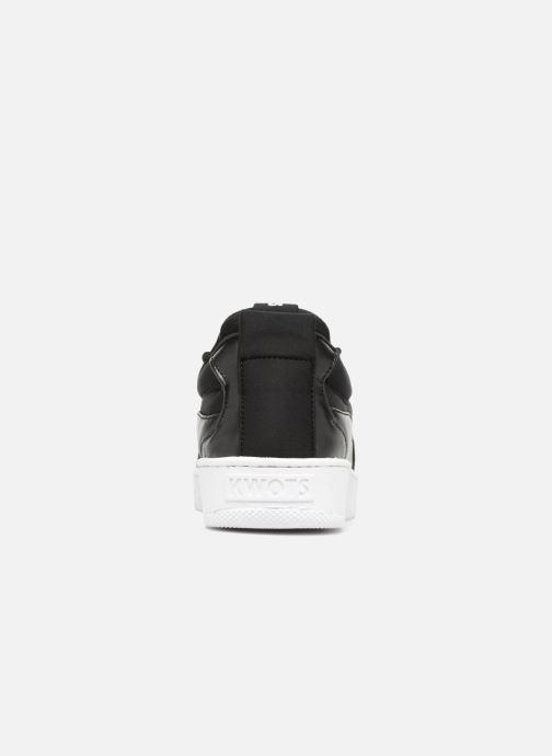 Sneakers Kwots FLASH NEOPRENE BW Zwart rechts