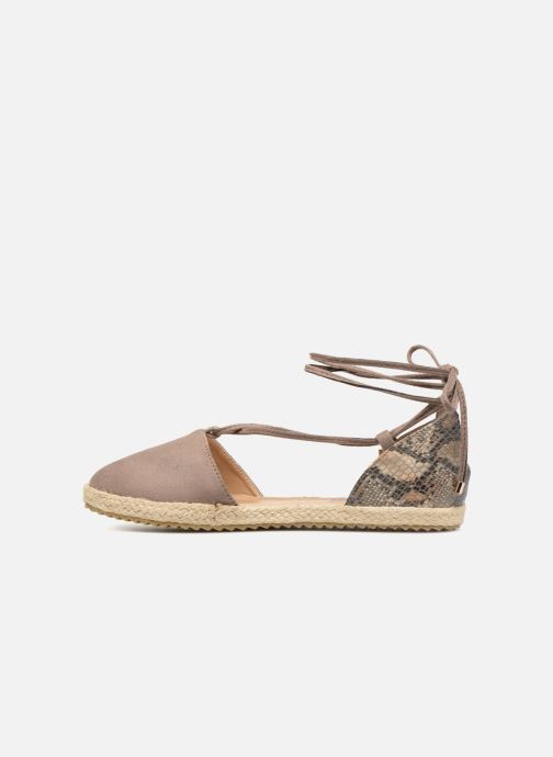 Espadrilles Refresh 63534 Brown front view