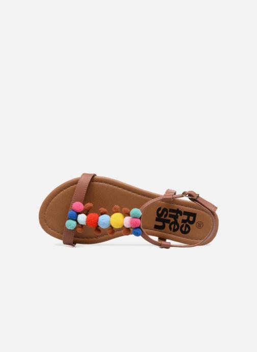 Sandales et nu-pieds Refresh 63593 Marron vue gauche