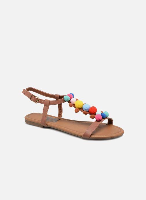 Sandales et nu-pieds Refresh 63593 Marron vue détail/paire