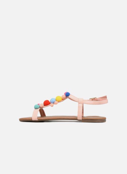 Sandals Refresh 63593 Beige front view