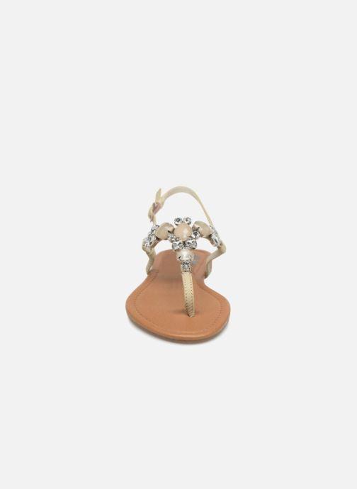 Sandales et nu-pieds Refresh 63612 Vert vue portées chaussures