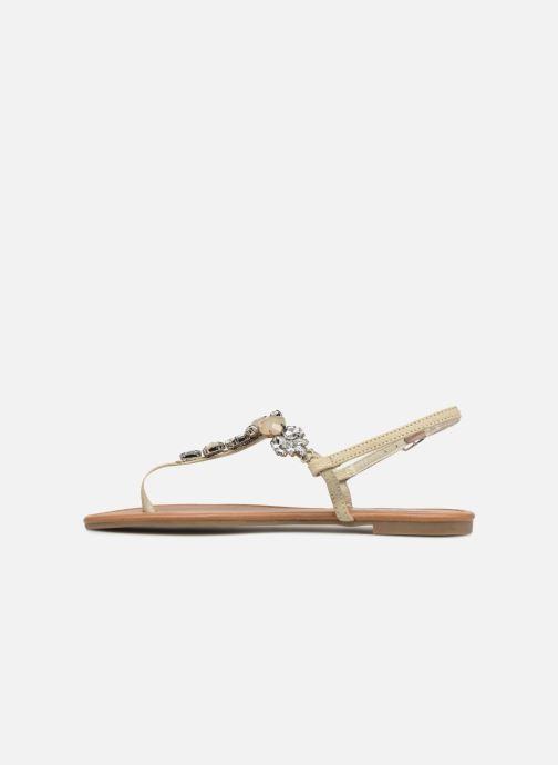 Sandalen Refresh 63612 grün ansicht von vorne