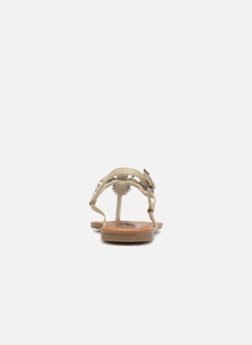 Sandales et nu-pieds Refresh 63612 Vert vue droite