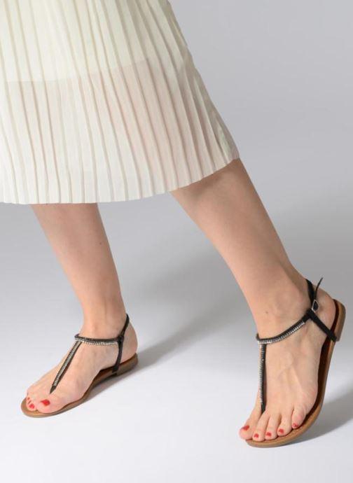 Sandales et nu-pieds Refresh 63613 Noir vue bas / vue portée sac
